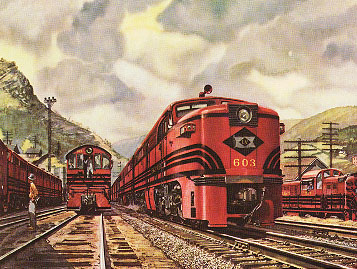 Lehigh Valley Locomotive 603 PA