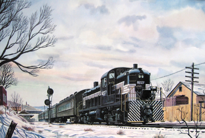 New York Central 8227-RS3